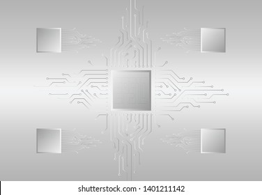 Circuit eletric vector background. technology infographics. technology vector background