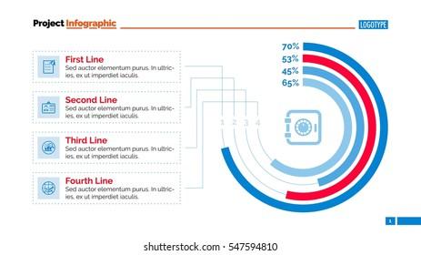 Circular Chart Slide Template
