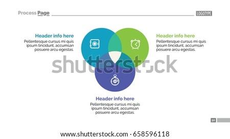 circular diagram slide template のベクター画像素材 ロイヤリティ