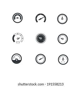 Circular gauges icons