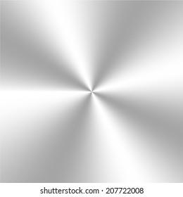 Circular metal background