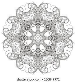 circular ornament
