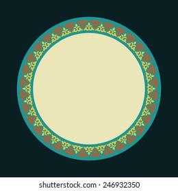 circular ornament East