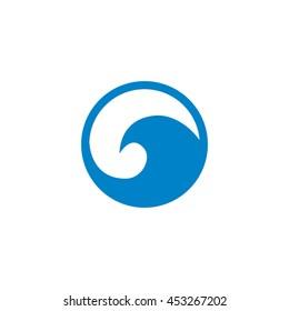 Circular Wave Symbol Vector