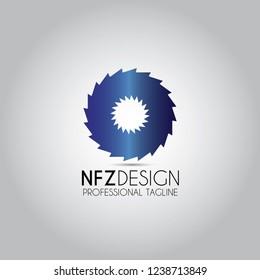 Circular Whipsaw Sawing Logo