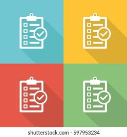 Circumstances Flat Icon Concept