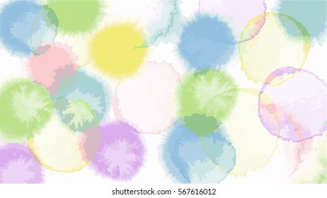 circus candy   tone color abstract vector background , look like watercolor drop style
