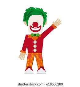 circus clown icon