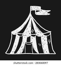 circus doodle