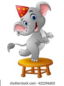 Circus Elephant Cartoon