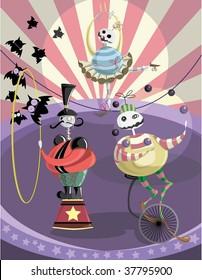 circus of freak monsters