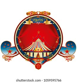 A circus gold label for your entertainment