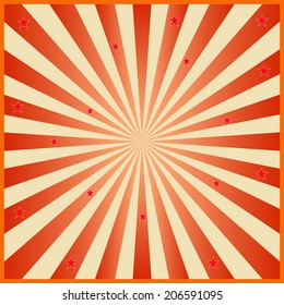 Circus graphic effects for comic background vector