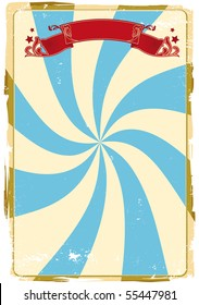 Circus grunge background. A circus background for a poster.
