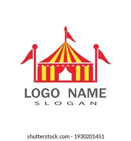 Circus Logo Template vector symbol design