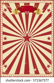 circus red vintage. A circus background for your entertainment