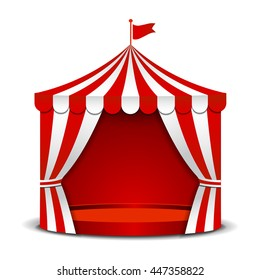 Circus tent isolated on white background.  sc 1 st  Shutterstock & circus tent Images Stock Photos u0026 Vectors | Shutterstock
