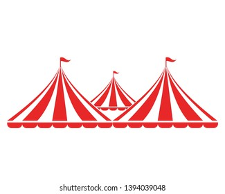 Circus vector illustration design logo emblems template - Vector