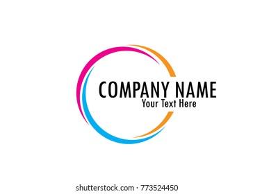 cirle logo design