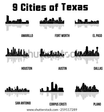 Black cities in texas