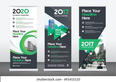 City Background Business Roll Up Design Template Set. Flag Banner Design. Can be adapt to Brochure, Annual Report, Magazine,Poster, Corporate Presentation,Flyer, Website