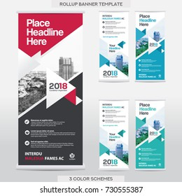 City Background Business Roll Up Design Template.Flag Banner Design. Can be adapt to Brochure, Annual Report, Magazine,Poster, Corporate Presentation,Flyer, Website
