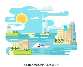 City beach design flat