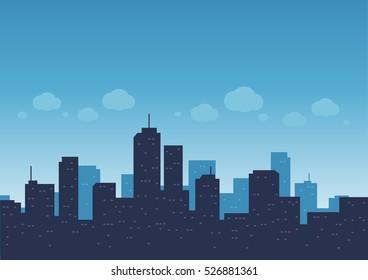City Daylight Background