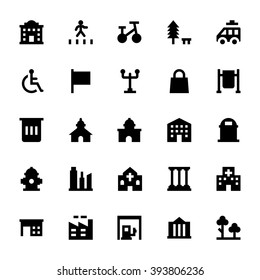City Elements Vector Icons 7