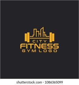 City Fitness logo, GYM logo