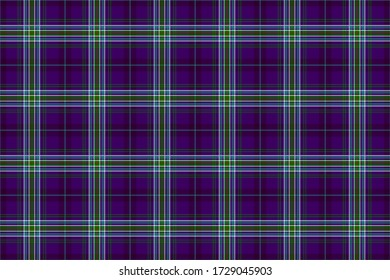 City of Geneva Tartan. Tartan imitation for prints on fabric and clothing, interior decoration, Scottish-style websites. Seamless pattern.