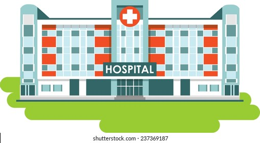 Hospital Building Images, Stock Photos & Vectors | Shutterstock