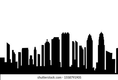 City icon on white background