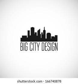 City icon. Vector illustration