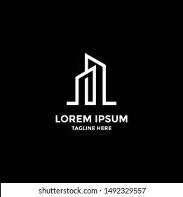 city logo template, Building Idea logo template, Modern City logo designs concept
