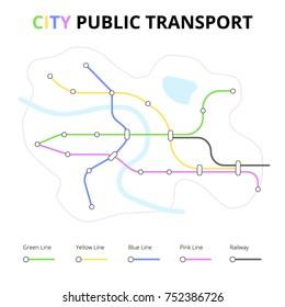 City Public Transport Map