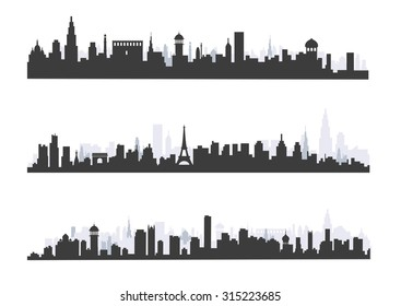 city Skyline - Illustration