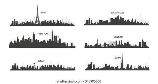 city Skyline - Illustration