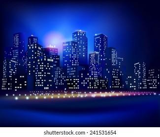 City skyline. Vector illustration.