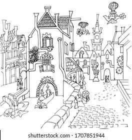 Kawaii Sweets Doodle: FREE Coloring Page (Printalbe PDF) | 280x264