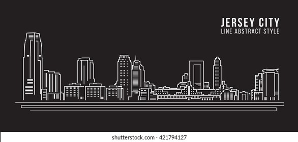 Line Art Nj : Jersey city stock images royalty free vectors