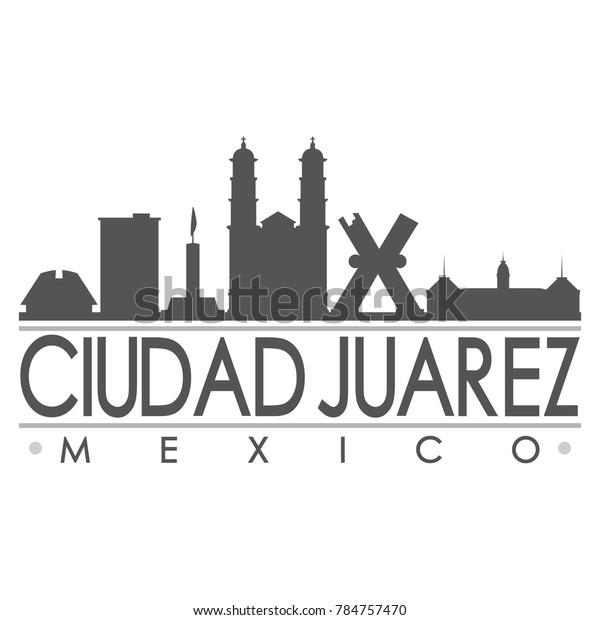 ciudad juarez mexico america skyline 600w 784757470