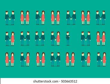 Civil Partnership - illustration