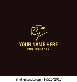 Cj Initial Signature Photography Logo