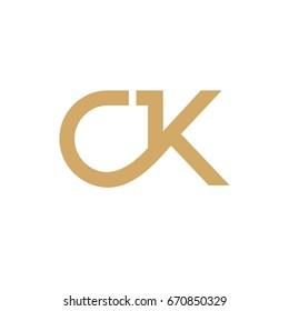 CK Initials Logo