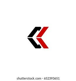 ck letter logo