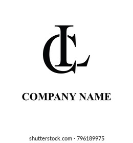 cl initial logo design