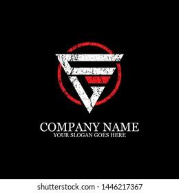 CL Initial logo inspirations, gym logo template