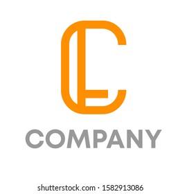 cl logo icon design template sign