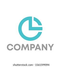 CL logo vector design template sign